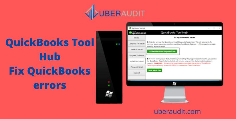 QuickBooks Tool hub page