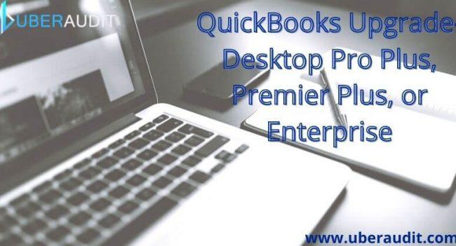 QuickBooks Upgrade