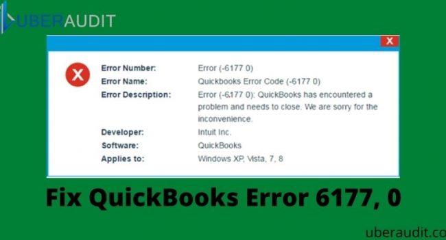 Error 6177 0