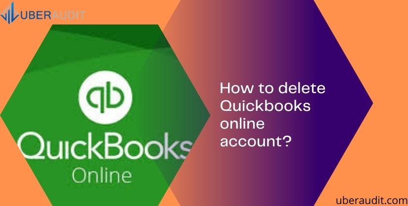 delete Quickbooks online account?